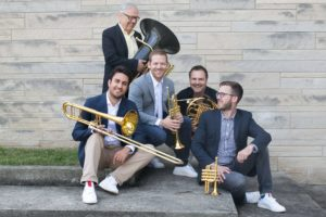 Canadian Brass welcomes back Brandon Ridenour